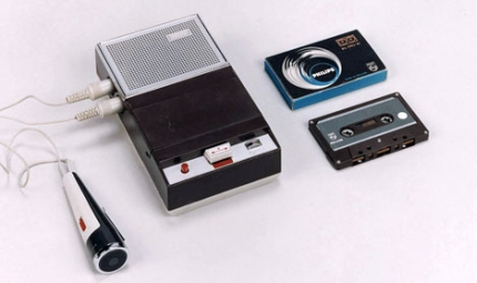First Philips recorder and tape