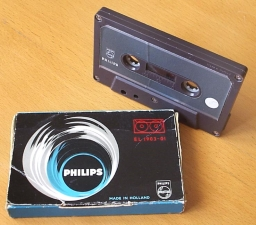 First Philips Compact Cassette
